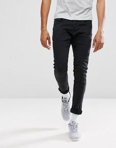 Суперэластичные черные джинсы кроя суперслим G-Star BeRAW 3301-A - Черный