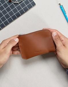 Кожаный бумажник Sandqvist Penny - Коричневый