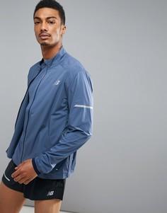 Синяя куртка New Balance MJ73253VTI - Синий