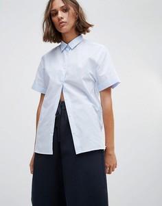 Рубашка с короткими рукавами Wood Wood Eleni - Синий