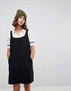 Платье А-силуэта Wood Wood Loui - Черный