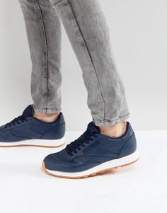 Кожаные кроссовки Reebok Classic PG - Синий