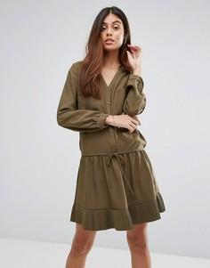 Платье Vanessa Bruno Athe Hadiya - Зеленый