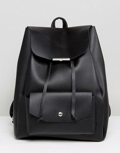 Рюкзак с карманом New Look - Черный