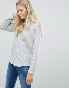 Многослойный свитер Blend She Clara - Серый