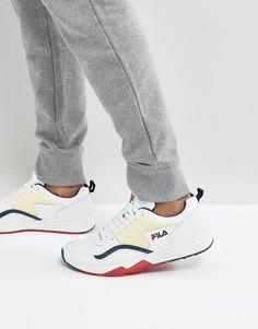 Белые кроссовки Fila Riot - Белый