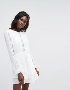 Платье мини The Jetset Diaries Amorie - Белый