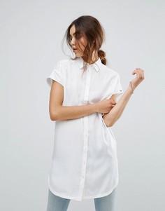 Длинная рубашка Tommy Hilfiger Denim - Белый