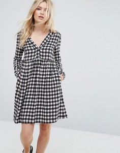 Платье-рубашка в клетку Max&Co Dedica - Мульти