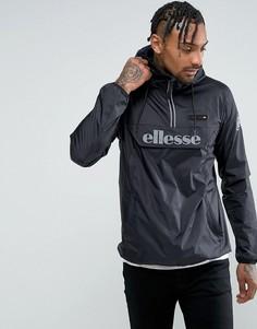 Куртка со светоотражающим логотипом Ellesse - Черный