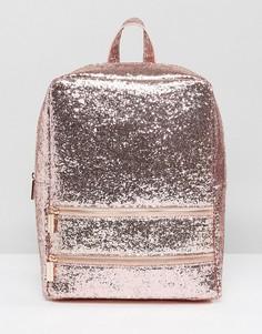 Розовый рюкзак с блестками Skinnydip - Розовый
