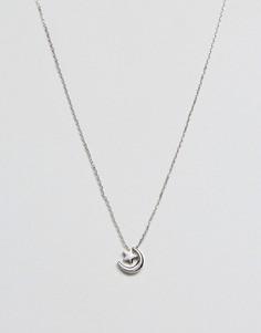 Серебристое ожерелье Skinnydip - Серебряный