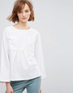 Свободная блузка Waven Annelie - Белый