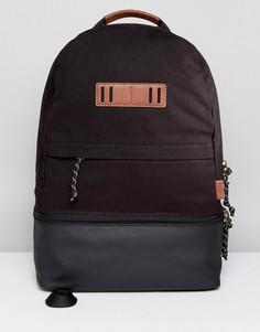 Парусиновый рюкзак Fossil - Черный