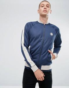 Темно-синяя спортивная куртка Pretty Green Tenison - Темно-синий