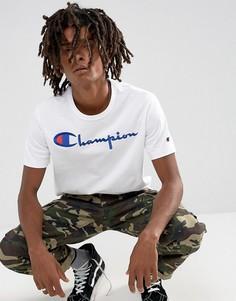Белая футболка с логотипом Champion - Белый