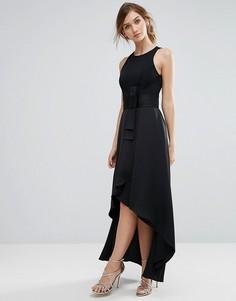 Платье макси с бантом Coast - Черный