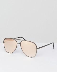 Солнцезащитные очки-авиаторы Quay Australia X Desi Perkins - Золотой