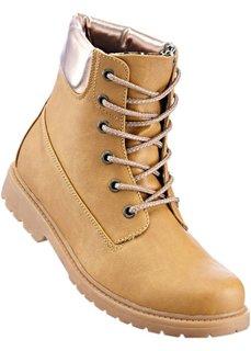 Ботинки на шнурках (верблюжий/медный) Bonprix