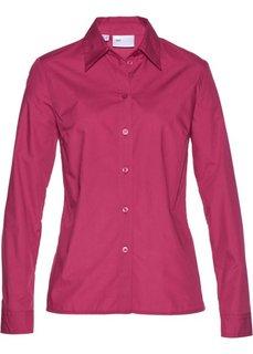 Классическая блузка (красная ягода) Bonprix