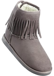 Ботинки (темно-серый) Bonprix