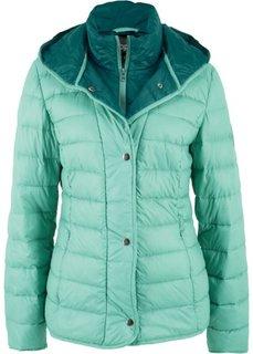 Куртка 2 в 1 из ультралегкого пуха (зеленый) Bonprix