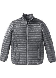Легкая стеганая куртка Regular Fit (дымчато-серый) Bonprix