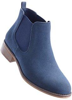 Ботинки-челси (синий) Bonprix