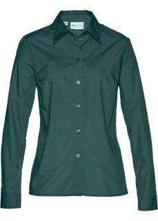 Классическая блузка (зеленый) Bonprix