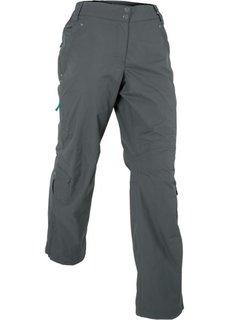 Длинные брюки для активного отдыха (антрацитовый) Bonprix