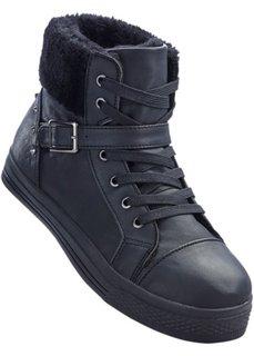 Ботинки (черный) Bonprix