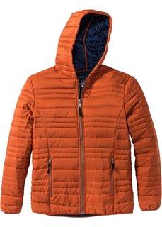 Стеганая куртка Regular Fit (темно-оранжевый) Bonprix