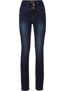Удобные стрейчевые джинсы, cредний рост (N) (темно-синий) Bonprix