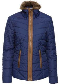 Стеганая куртка (полуночная синь) Bonprix