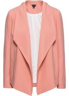 Пиджак (персиковый/цвет белой шерсти) Bonprix