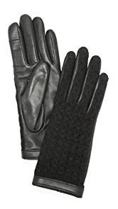 Agnelle Keiko Leather Gloves