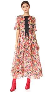 Ganni Seneca Silk Dress