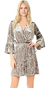 LAGENCE Riley Wrap Dress