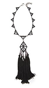 Lulu Frost Helena Tassel Necklace