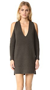 Michelle Mason Cold Shoulder Sweater