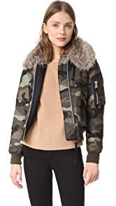 SAM. Camo Carly Bomber