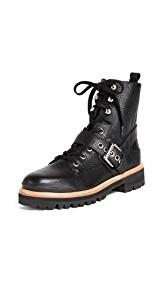 Sigerson Morrison Ida Buckle Boots