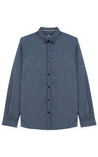 Синяя рубашка Tom Tailor
