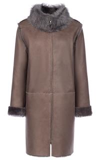 Пальто из овчины с тосканой LE Monique