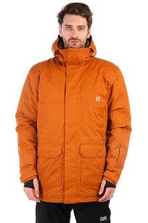 Куртка утепленная DC Harbor Leather Brown