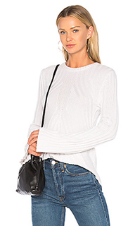 Расклешенный свитер в рубчик - Autumn Cashmere