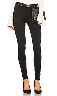Супер узкие джинсы с высокой посадкой gisele - Black Orchid