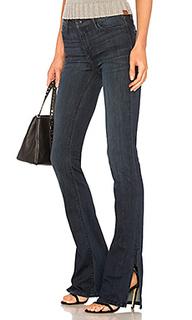 Расклешенные джинсы с разрезами по швам naomi - Black Orchid