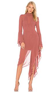 Платье с асимметричным подолом take a hold - C/MEO