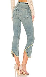 Прямые джинсы с высокой посадкой drew fray - Citizens of Humanity